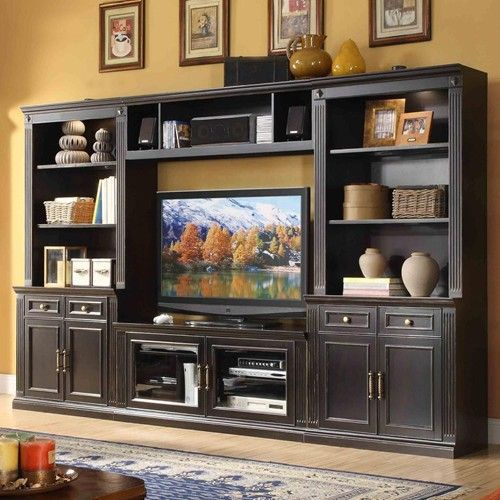 Home Entertainment Spaces: 17 Best Ideas About Wall Unit Decor On Pinterest