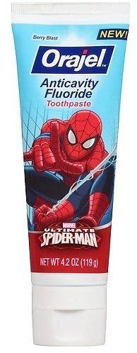 Orajel ™ Ultimate Spider-Man Toothpaste - Berry Blast 4.2 Oz  https://couponash.com/deal/orajel-TM-ultimate-spider-man-toothpaste-berry-blast-42-oz/164265