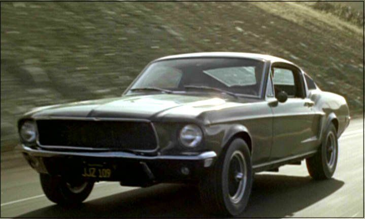 Steve McQueen Movie Bullit Car 1968 Mustang 390 GT