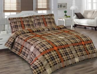 Holey Quilt® obliečka Zipper™ Square brown 140x200