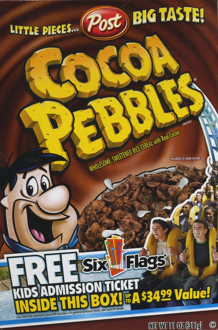 Cocoa Pebbles ©2008 Post Foods LLC