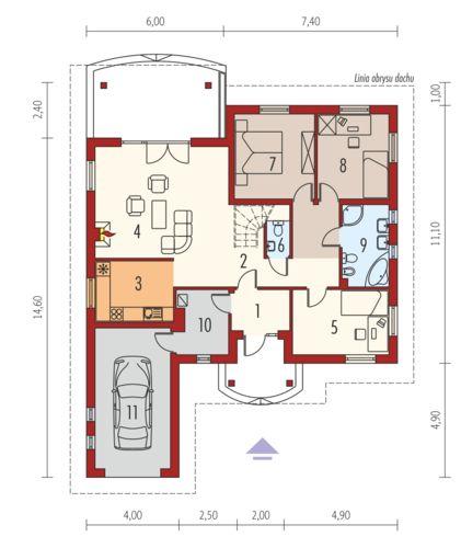 proiecte de case mici pe un singur nivel Small single level house plans 10