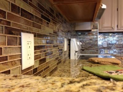 Shop Elida Ceramica Glass Mosaic Laser Metallic Earth
