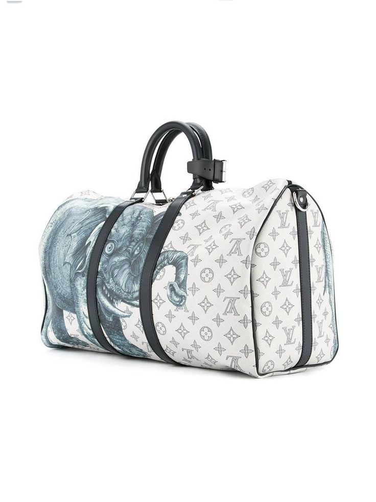 Louis Vuitton NEW Limited Edition Mono Men's Travel Weekender Tote Duffle Bag 2