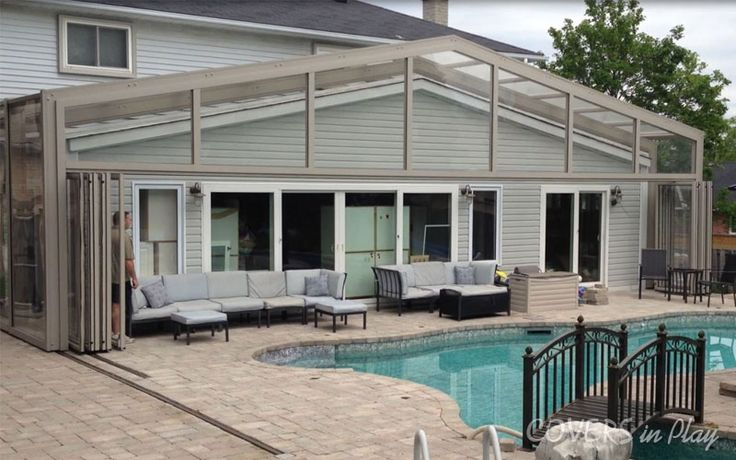 Our glass or screen pool enclosures keep your pools clean from insects and harmful UV rays. Have a look at http://www.coversinplay.com/benefits.html#PoolCover #PoolEnclosure #SwimmingPool #EndlessPool #GroundPool #PoolFacts