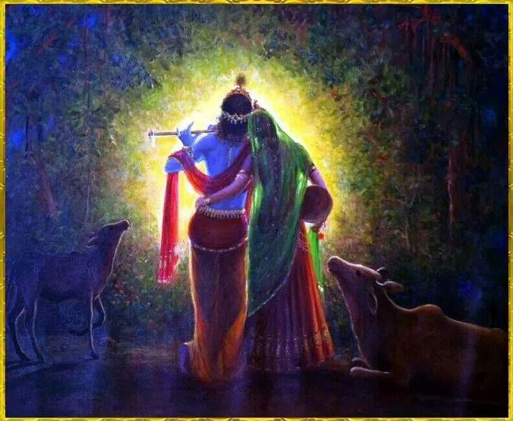 Lovely Krishna Radhe