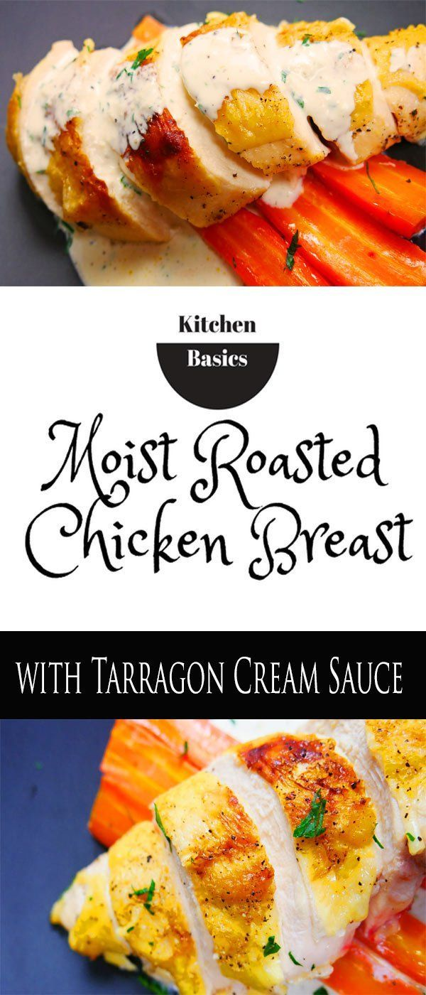 "Perfect Moist Roast Chicken Breast When it comes to roasting chicken breasts the question comes down to two options,  ""Bone-In"" or ""Boneless""? Cooking meat on the bone always brings more flavor to the table. butter-n-thyme.com #chicken #breast"