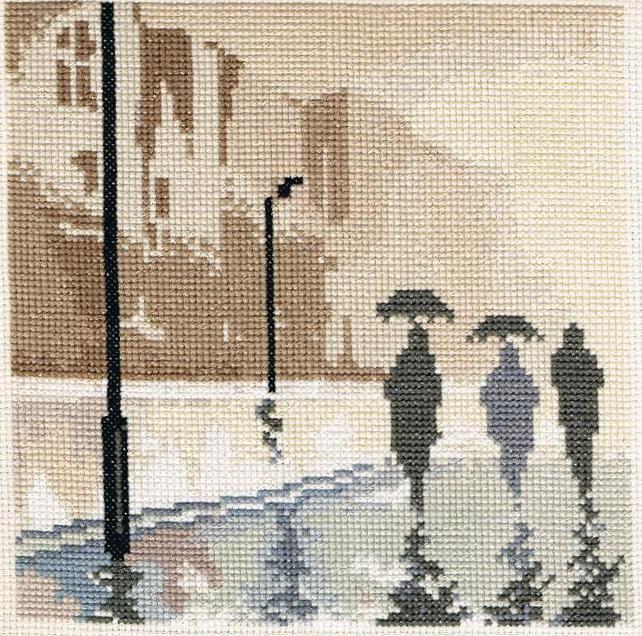 Ivana-punto croce:pioggia