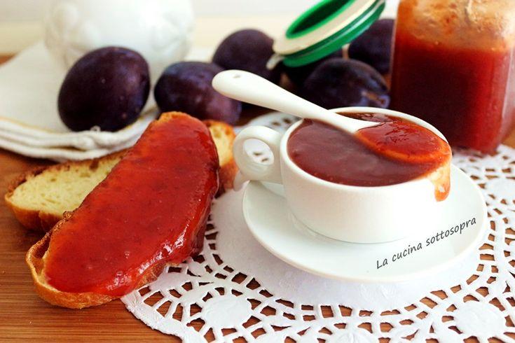 Marmellata+di+prugne+veloce+senza+bucce