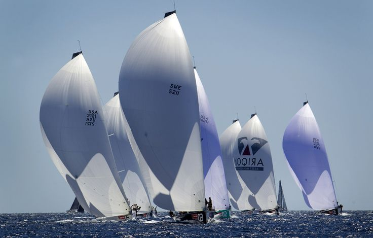 Bărci cu pânze pot fi văzute în timpul celei de-a 32-a ediţii a Copa del Rey Regatta, în Palma de Mallorca, Spania, marţi, 30 iulie 2013. (  Jaime Reina / AFP  ) - See more at: http://zoom.mediafax.ro/sport/best-of-sports-iunie-iulie-2013-11229606#sthash.5ogjkFfP.dpuf