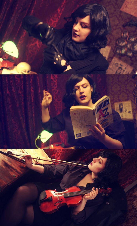 Gender-swapped Sherlock.  Perfect.  ~Glasmond on deviantART