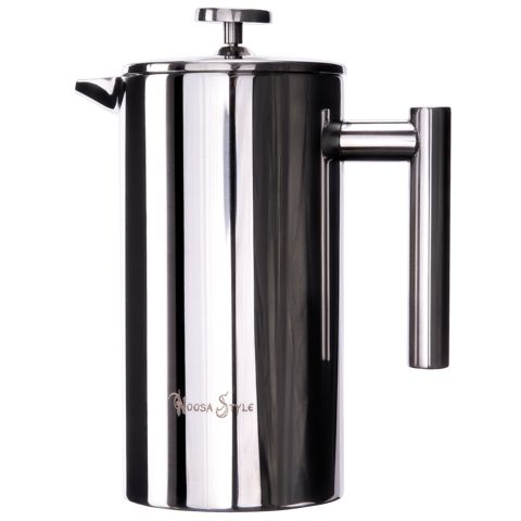 800ML Stainless Steel French Press Coffee Plunger