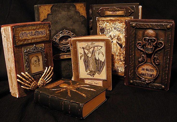 spell books creepy halloween - photo #1