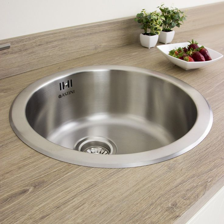Astini Supra 1.0 Bowl Brushed Stainless Steel Kitchen Sink & Waste AS5218