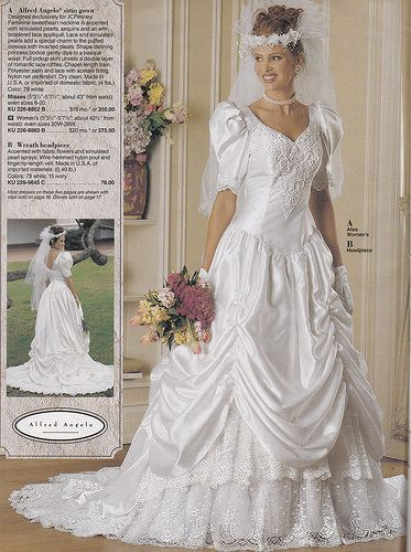 131 best 80'S & 90'S WEDDING DRESSES images on Pinterest | Vintage ...