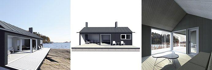 Sunhouse XS2 - triptych. Architect: Jarkko Könönen.
