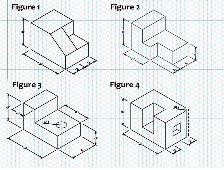 The  Best Isometric Drawing Exercises Ideas On