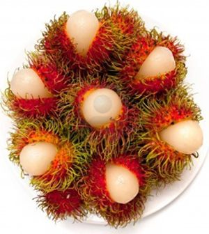 Rambutan fruit, scientifically named as Nephelium Lappaceum is a tropical fruit. Eating rambutan can help reduce body fat, make skin softer, improve the condition of one's hair, treats dysentery and diabeties