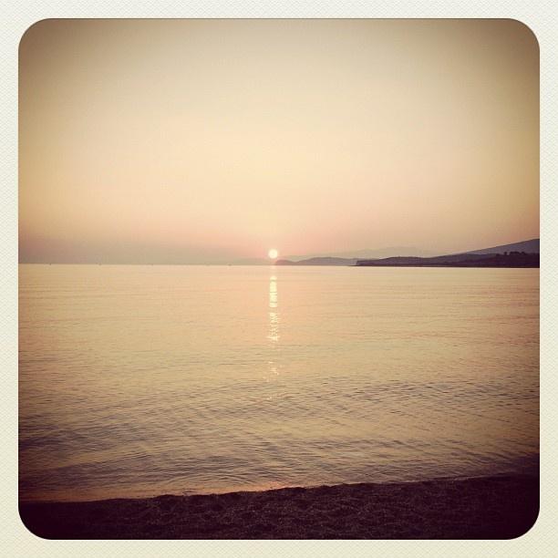 Sunset at Thassos