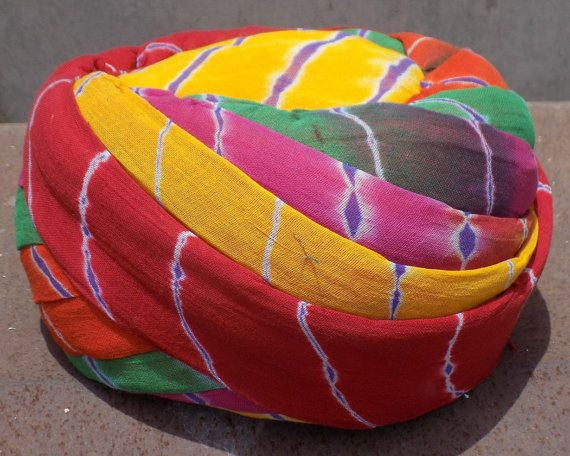 Rajasthani Jodhpuri  Safa Turban Headwear Hat Cap Ethnic Pagri for Men /Turban / Multi Color safa / Free Shipping by pinkcityhandmade on Etsy