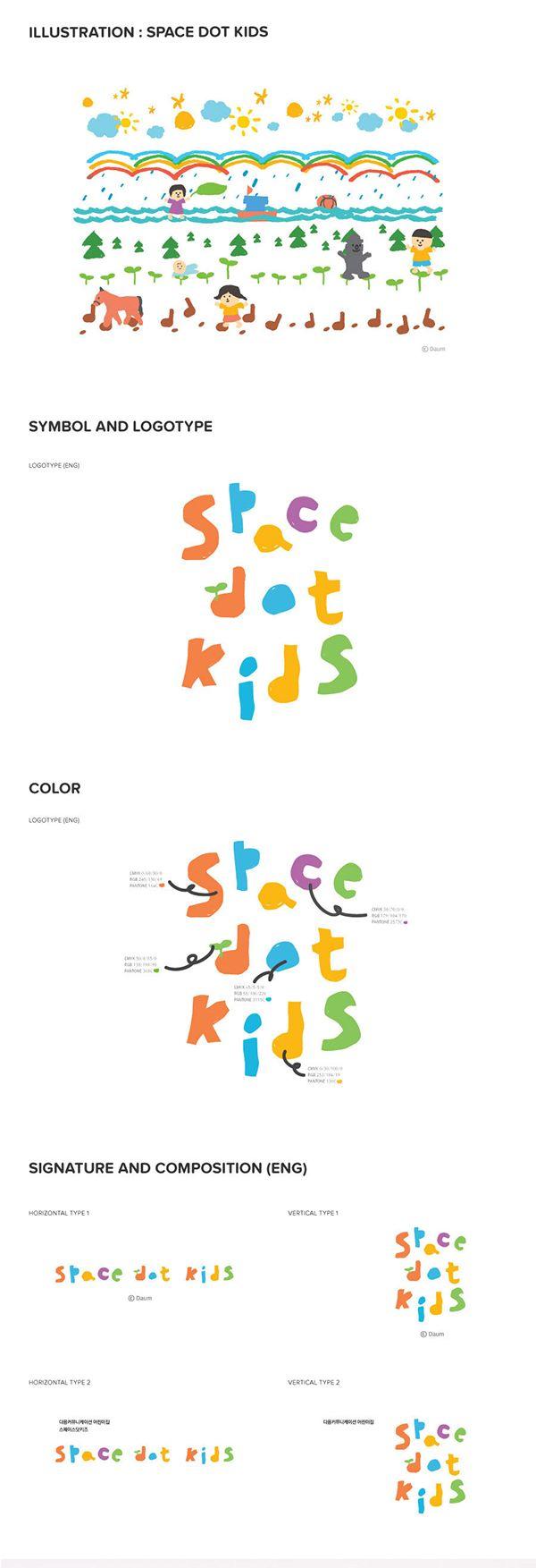 space dot kids on Behance