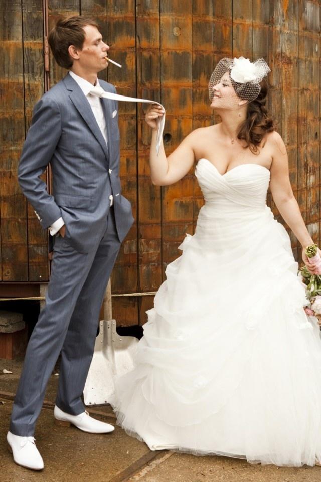 Gooi het roer om voor te gekke trouwfoto's! | ThePerfectWedding.nl