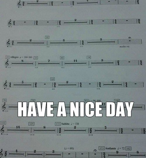 Basically what I play every day because trombones get no appreciation. The trumpets on the other hand...