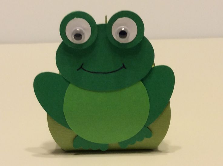 Frog curvy keepsake box