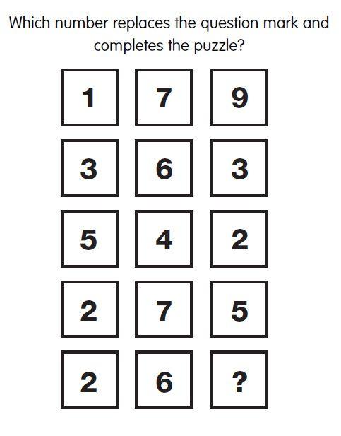 Pin on math Iq problems