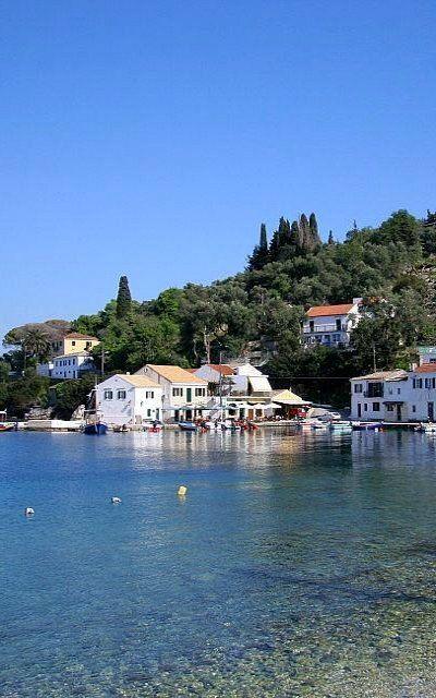 Loggos, Paxos Island, Greece