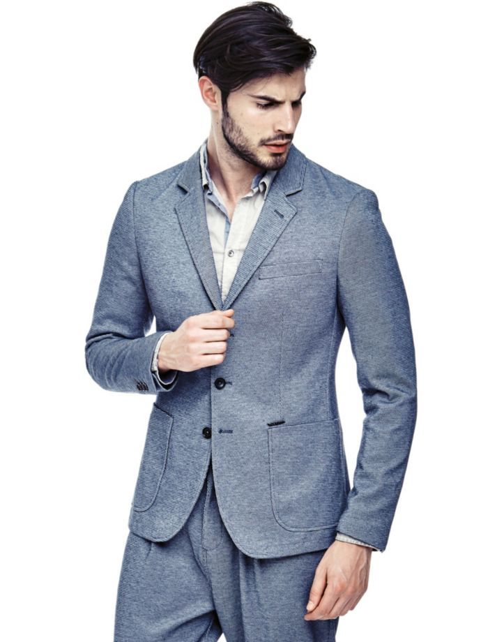 EUR129.90$  Watch now - http://vivao.justgood.pw/vig/item.php?t=3riwcn55524 - CASUAL BLAZER WITH POCKETS