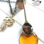 【再販】ごちそうスプーンのネックレス*女王蜂のはちみつ
