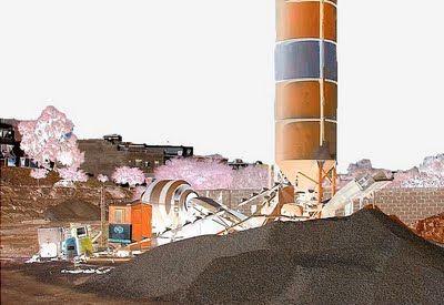 Choisir le mode de production du béton - Une centrale à béton