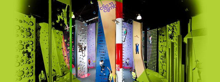Clip 'N Climb - Climbing wall meets theme park - Melbourne, Australia