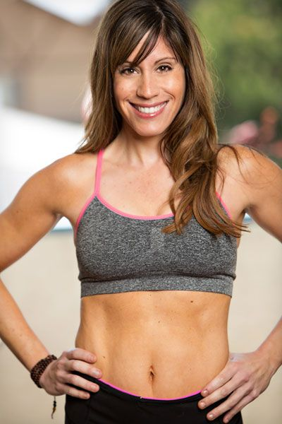 Try this 4-minute #Tabata workout to work up a sweat in just minutes! | via @FitBottomedGirl