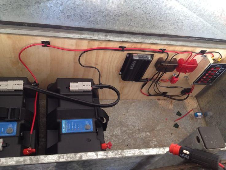 Camper trailer 12v setup