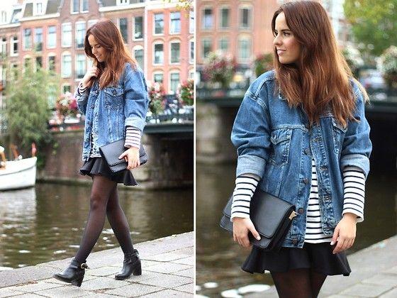 1000  images about oversized denim jacket on Pinterest | Denim ...