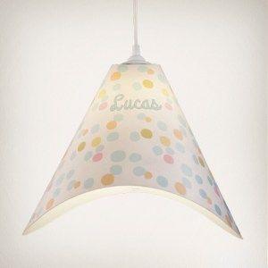 lámpara, lámpara de techo, infantil, niños