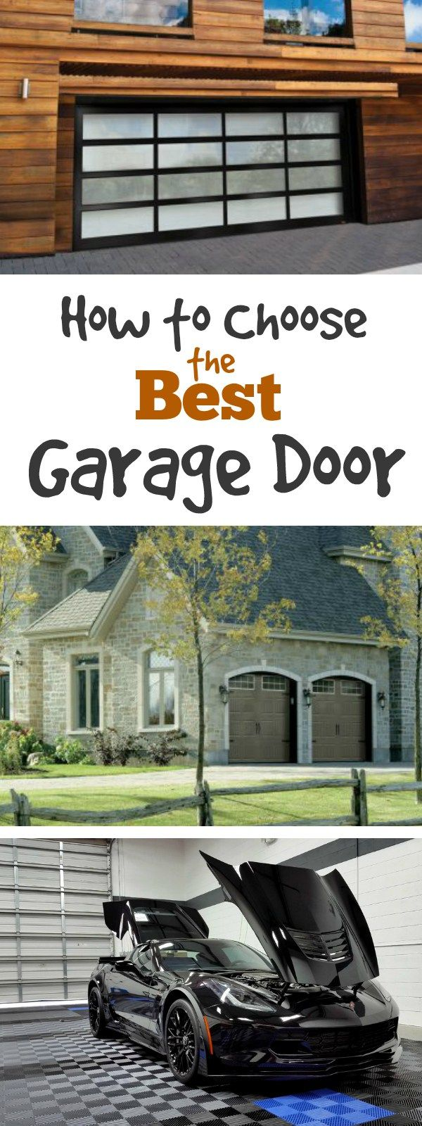 156 best images about garage door ideas on pinterest How to select a garage door opener