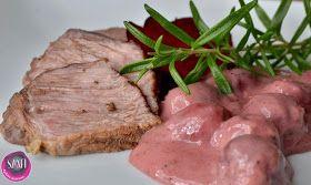 Főtt marha húsi meggyszósszal (paleo) ~ Éhezésmentes Karcsúság Szafival