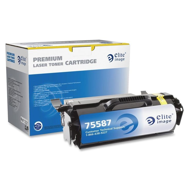 Elite Image Remanufactured High Yield Micr Toner Cartridge Alternative For Lexmark T65x