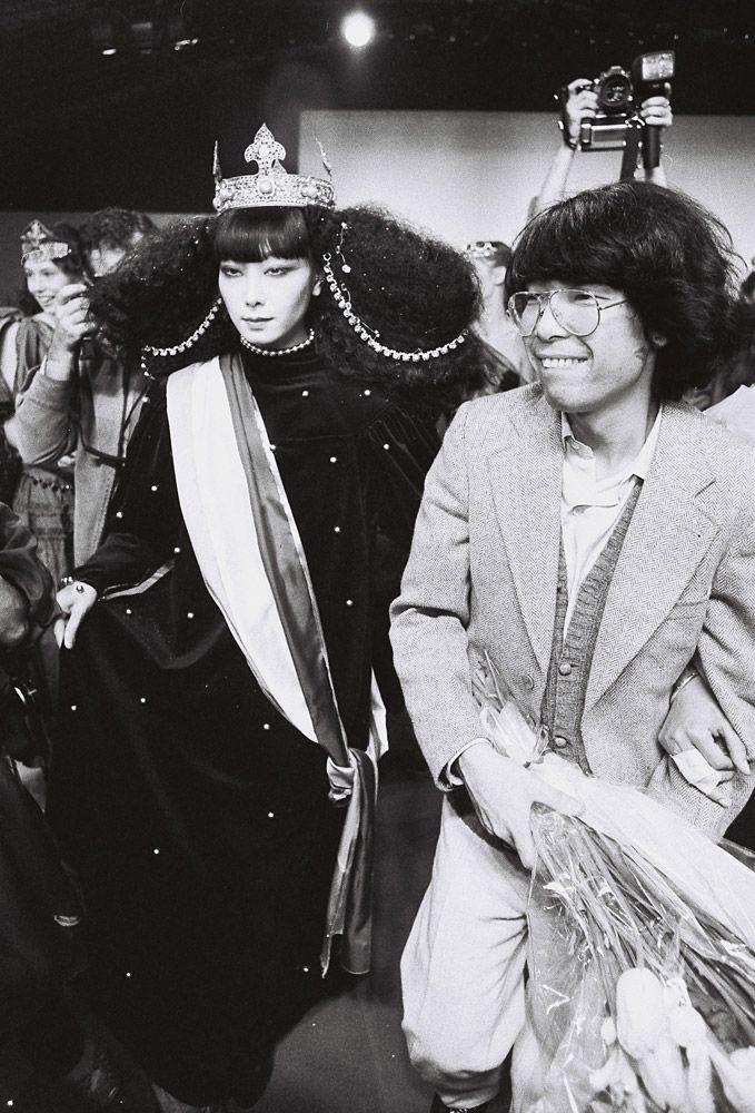 KENZO Takada Paris - 10/04/1978 To the left is model Sayoko Yamaguchi.