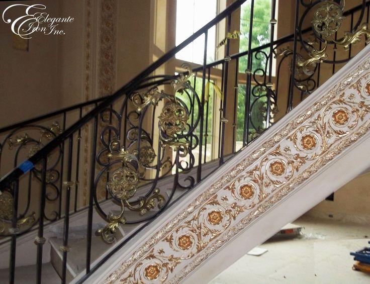 Orlando Wrought Iron Balcony Railing: 53 Best Stair Railings, Balconies And Decorative Inserts