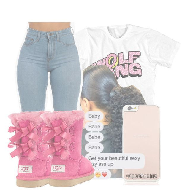 """""""......"""" by queennbre1 ❤ liked on Polyvore featuring UGG Australia and Kate Spade"""