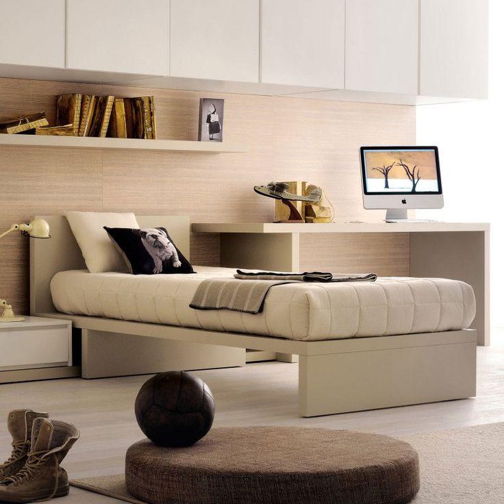 Oltre 25 fantastiche idee su testiera letto contenitore su - Testiera letto a muro ...