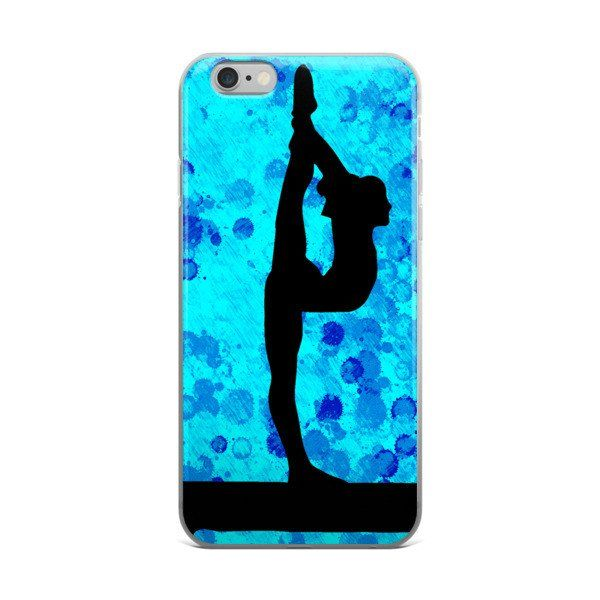 Gymnastics iPhone case This case is sleek and light. Its solid, one-piece construction fits your phone perfectly, and it's easy to snap on and off. • Made of a polycarbonate plastic • Smooth, matte fi