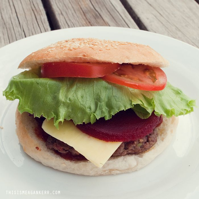 Home Made Hamburgers - AMAZING!!