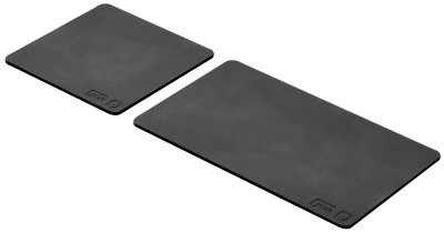 Geesa Haiku set onderzetters 9-15 cm, zwart