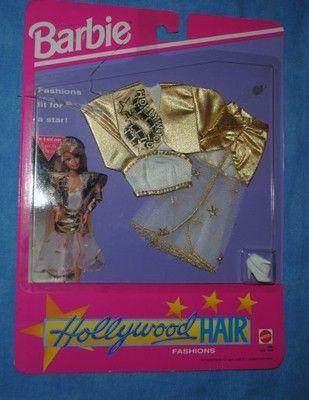 nowe ubranko NFRB 1992 HOLLYWOOD HAIR BARBIE