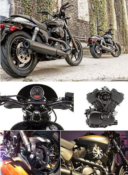 Destined to become the most frequent modified bike, the new Harley Davidson Street 500 ('piglette') could become an Urban Icon with its sibling the Street 750 'Baby Hog', the future looks good for these bikes.